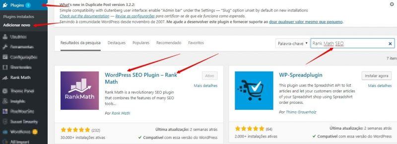 Rank Math - O Melhor Plugin de SEO para WordPress 1