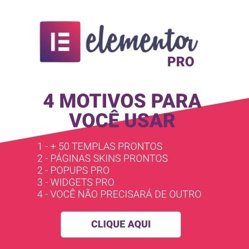 Elementor - Melhor Page Builder para WordPress 5