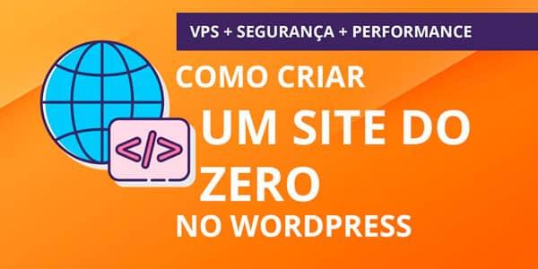 como criar um site completo do zero com elementor na vps